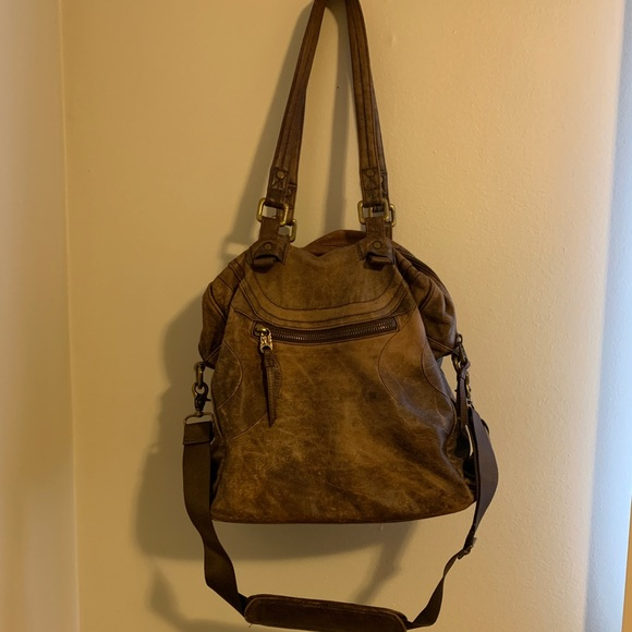 Lululemon leather gym bag